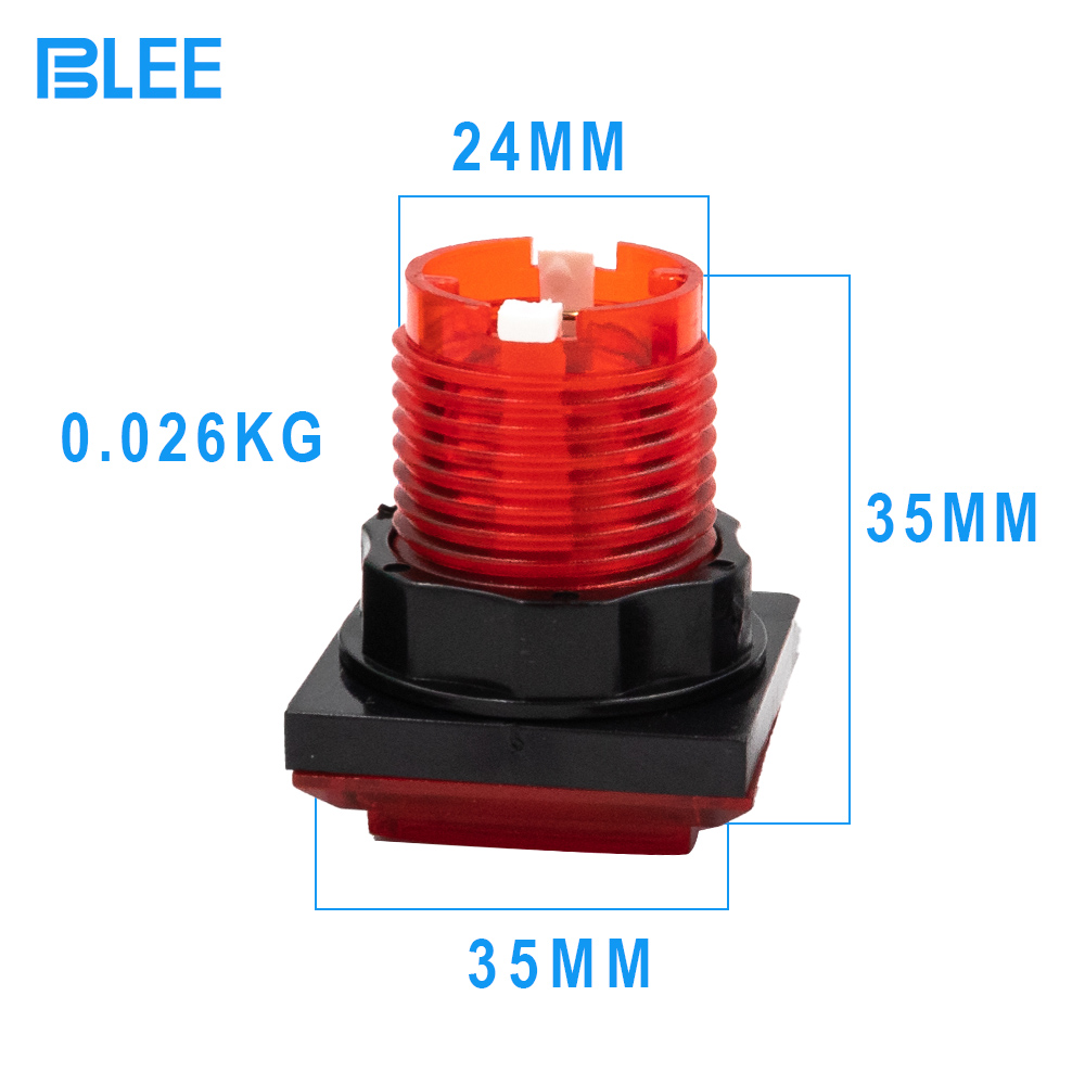 product-Arcade button profesional manufacturer illuminated arcade buttons kit led-BLEE-img