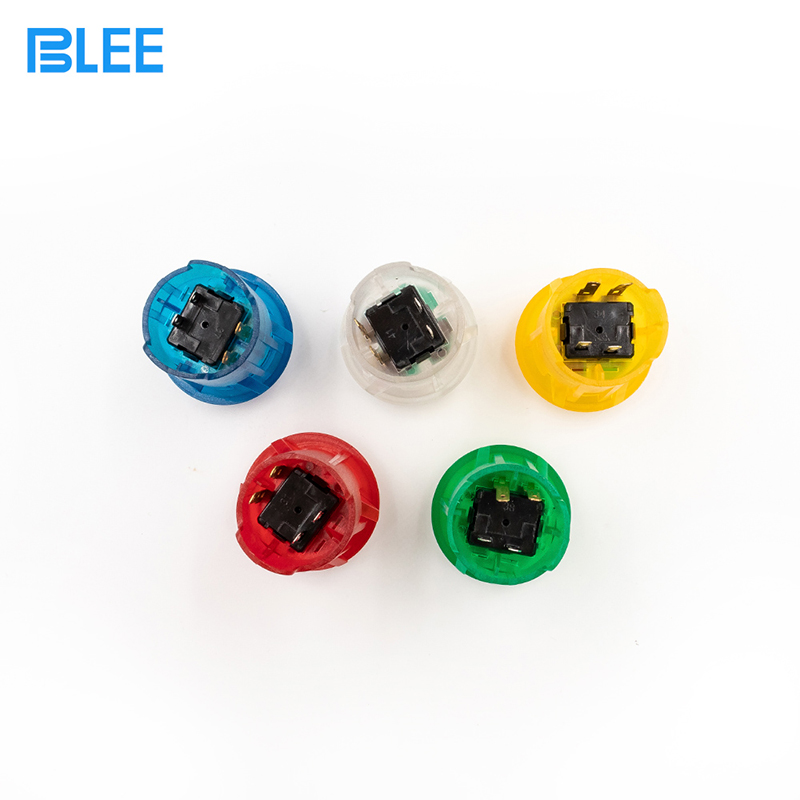 product-BLEE-30mm wholesale waterproof arcade button LED illuminated plastic push button switch-img
