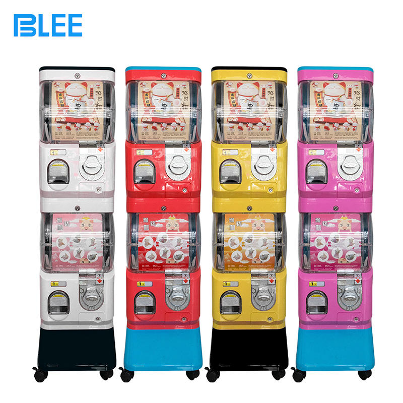 New amusement machine gumball capsule toys candy dispenser gashapon vending egg capsule mini toy machine for sale