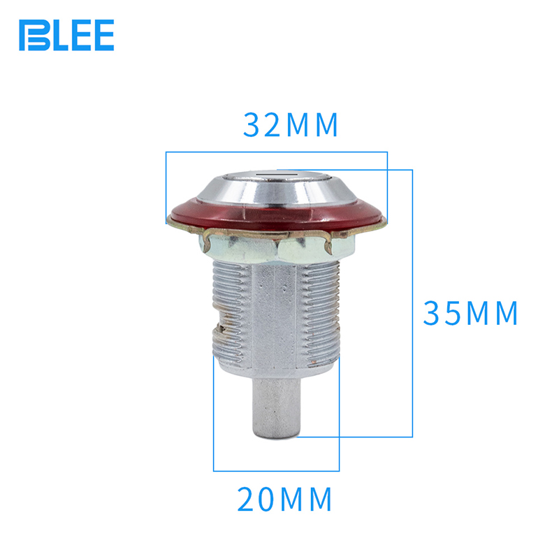 product-Mini coin cam lock chrome plated brass transformer box distribution control cabinet cam lock