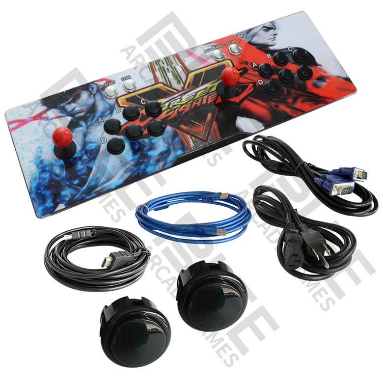 Pandora 9S 3D Arcade Video Game Console Game System Support Expand 2D 3D Games Function Advanced CPU Mini Arcade with 32G U Drive