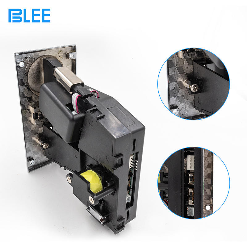 Durable Panel Alloy Arcade Multi Coins Selector Coin Acceptor