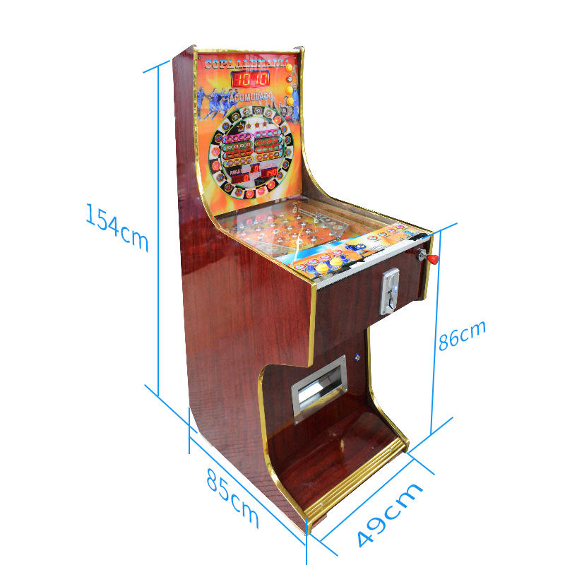 Coin Operated Gambling Pinball Game Machine For Sale