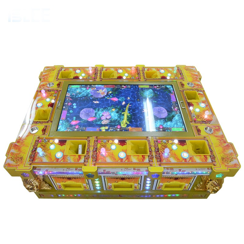 product-Arcade Fishing Game Machine Sot Cheap Fish Table With Coin Acceptor Game Board Fish Hunter F