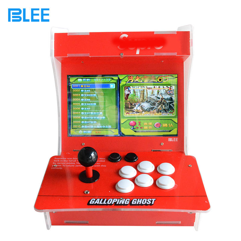 1660 in 1 Arcade Video Game Console Mini Game Customized 10.1 inch Mini Bartop Arcade Machine