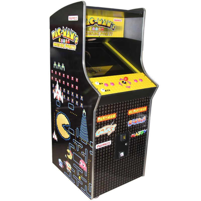 60 In 1 Arcade 1up Pac-man Wooden Cabinet Game Machine