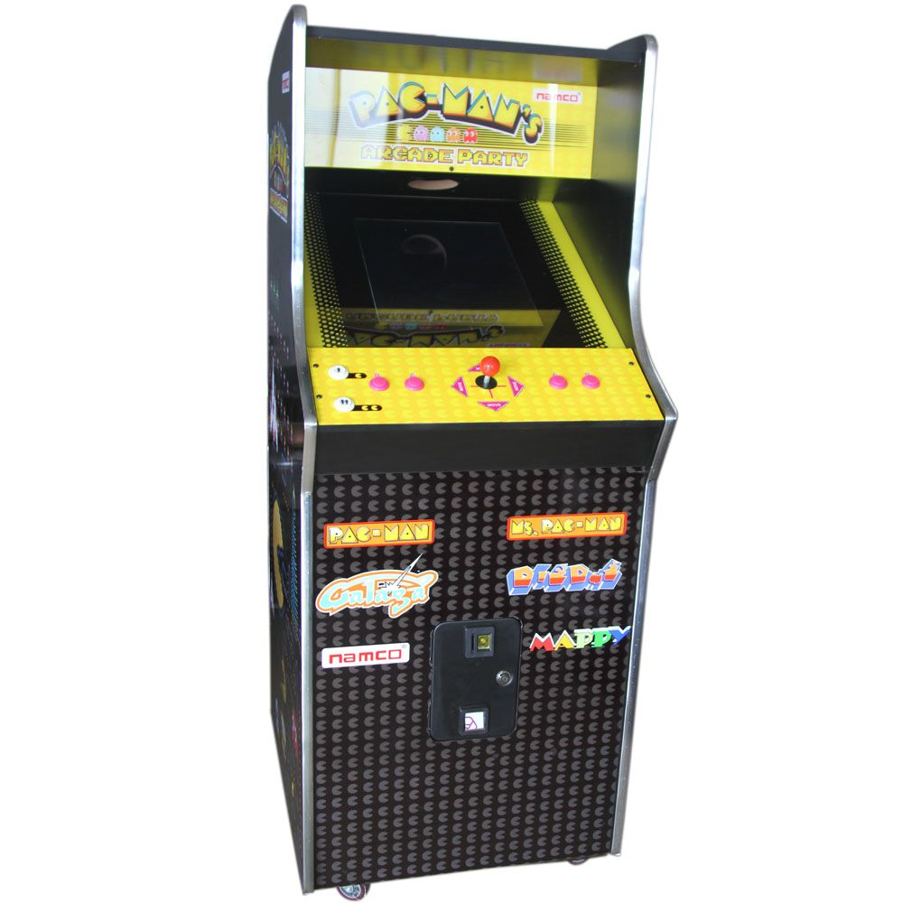 product-BLEE-60 in 1 Arcade Games Machines Arcade 1Up Pac-Man Wooden Cabinet Game Machine for Sale-i