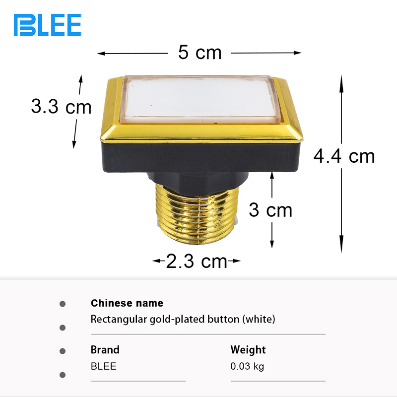 product-BLEE-Illuminated Push Button with micro-switch For Arcade Game Machine Arcade Push Button-im