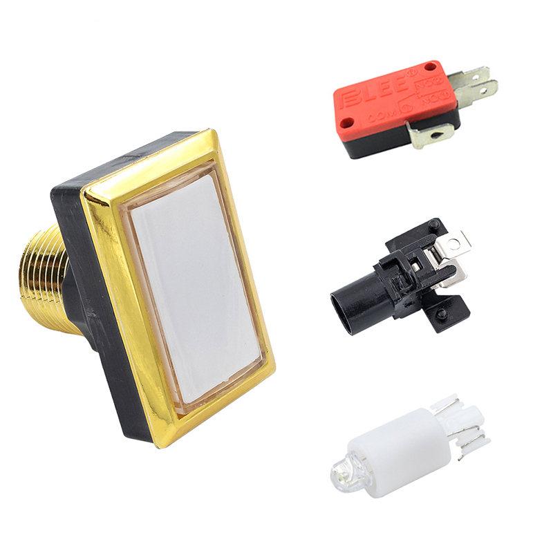 product-Illuminated Push Button with micro-switch For Arcade Game Machine Arcade Push Button-BLEE-im