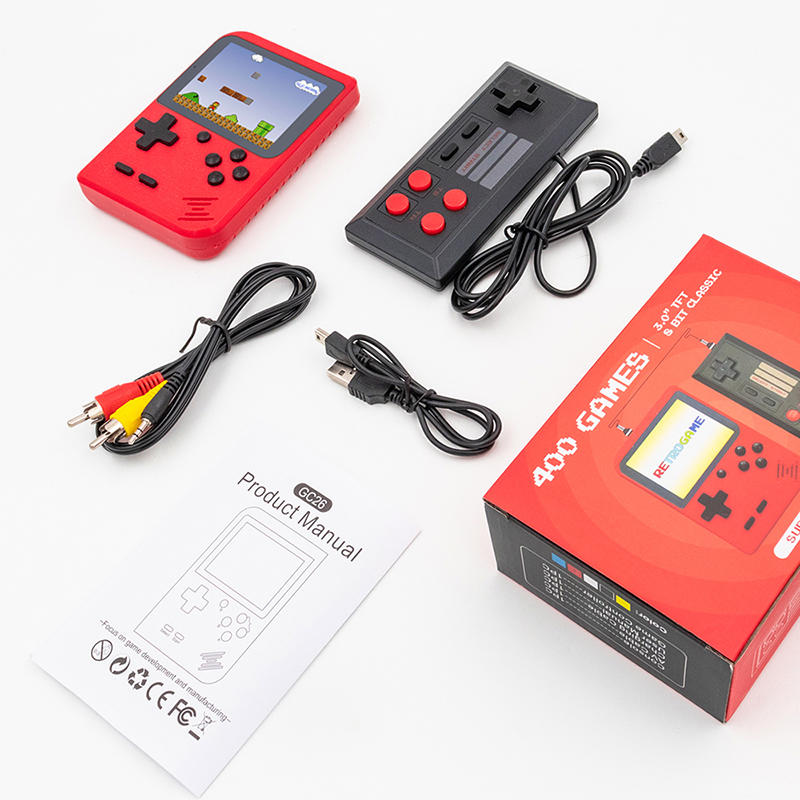 New Portable Retro 400 Pocket Video Pandora Handheld Game