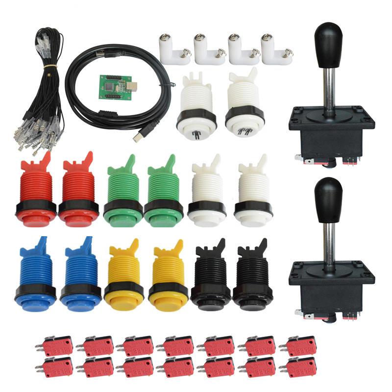 DIY Zero Delay Arcade USB Encoder Joystick And Push Buttons