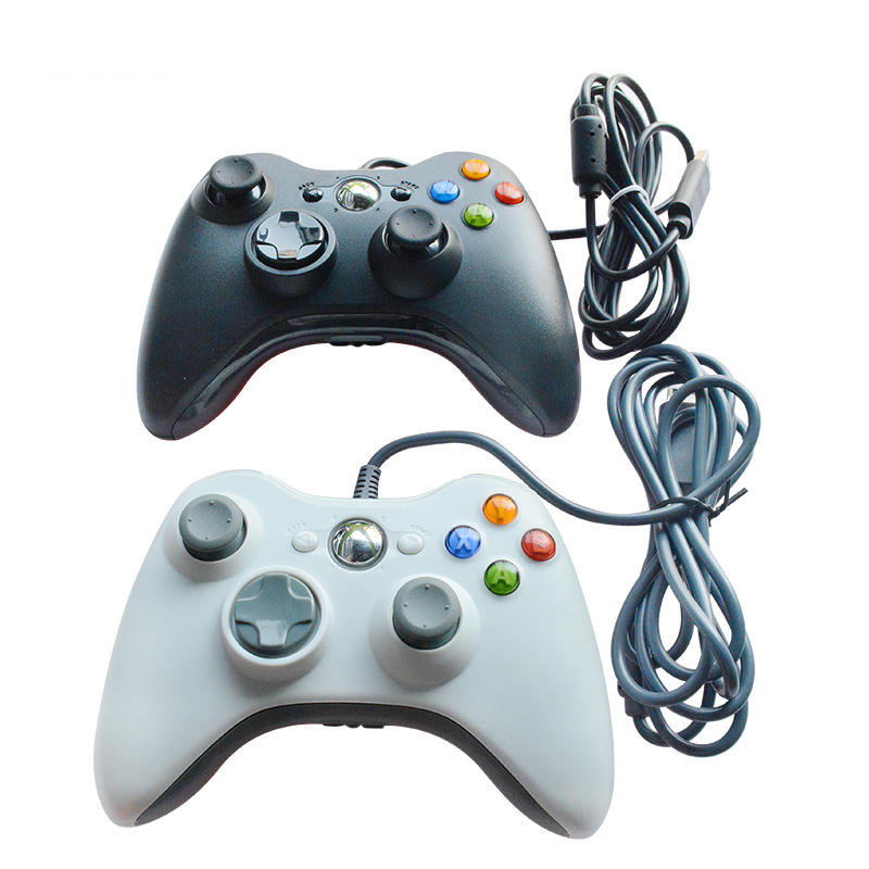 Microsoft Xbox 360 Game Pad Controller Wired Joystick Joy Pad USB