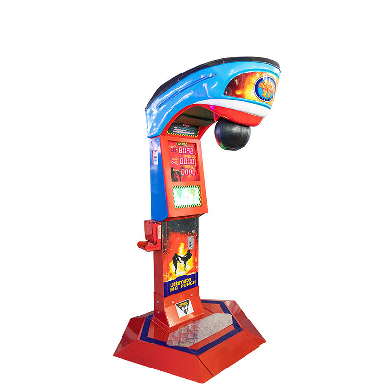 Big Punch Boxing Machine Coin Operated Redemption Arcade Game Machine King of The Hammer