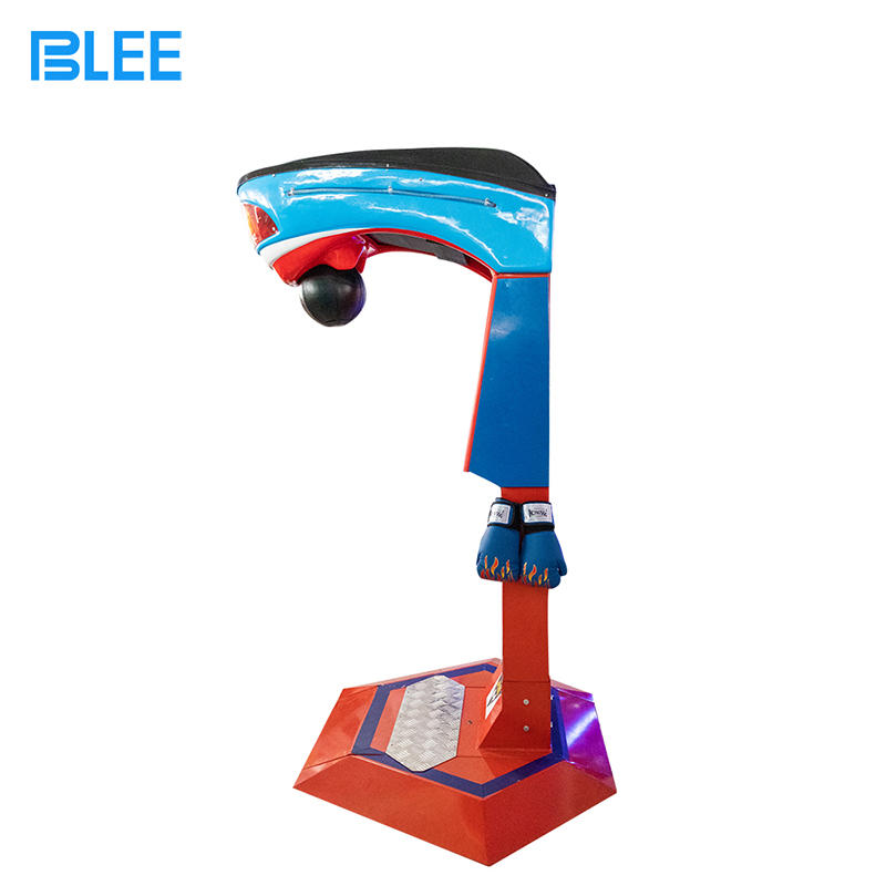 product-BLEE-Big Punch Boxing Machine Coin Operated Redemption Arcade Game Machine King of The Hamme
