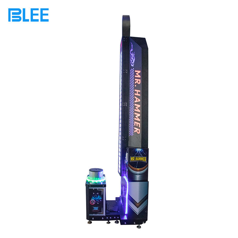 product-BLEE-2020 Popular Hot King of The Hammer Ticket Hitting Game Machine-img