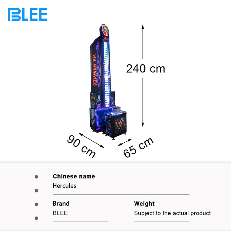 product-2020 Popular Hammer Ticket Game Machine Hot King of The Hammer Hitting Game Machine-BLEE-img
