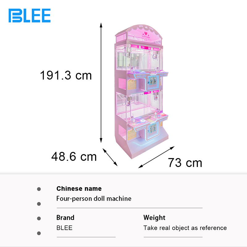 product-2020 Colorful Park Cheaper Foll Claw Machine Arcade Game Machine With Low Price-BLEE-img