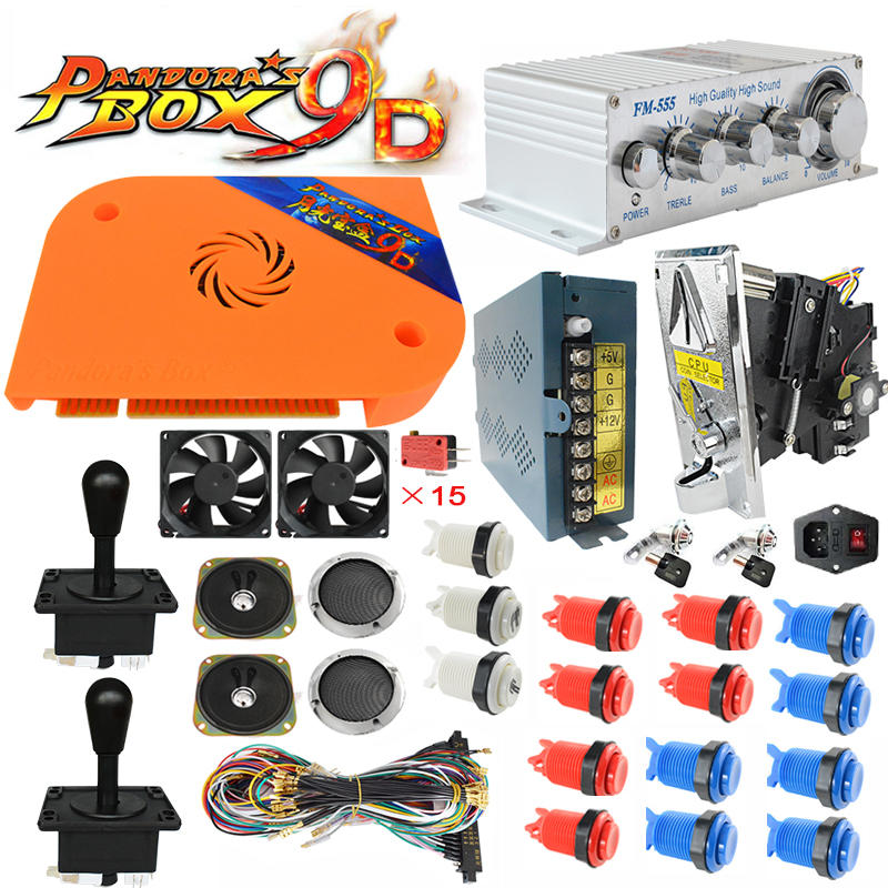 Pandora Box 9d Board Arcade Jamma Kits Include Buttons Joystick