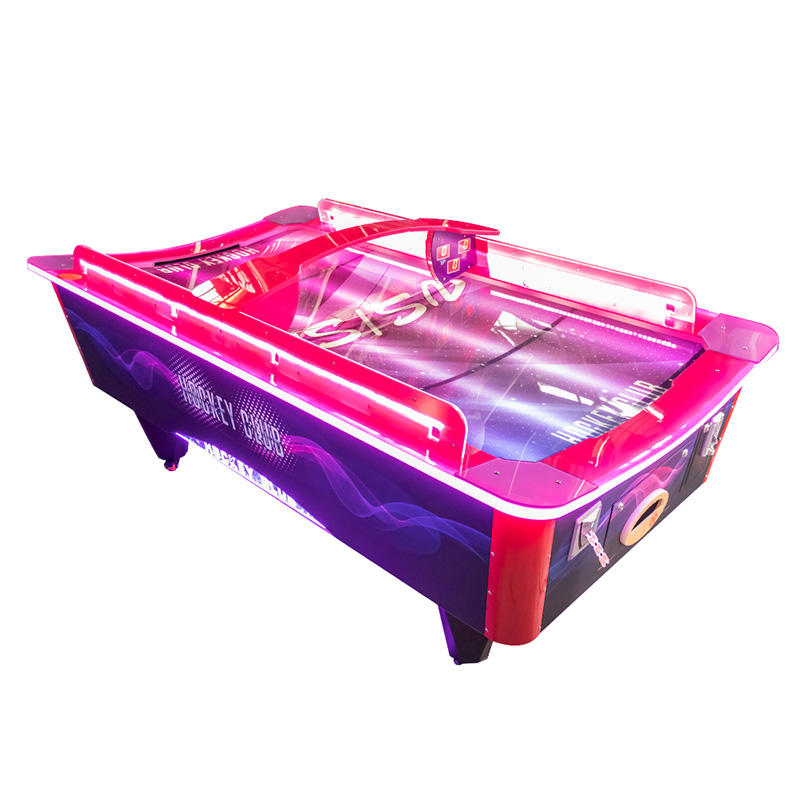 Coin Operated Curved Table Air Hockey Arcade Games Machines