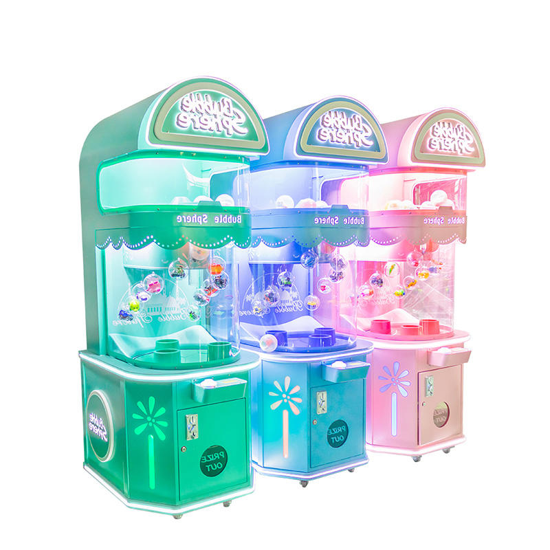 2020 Newest Bubble Sphere Capsule Gift Machine Arcade Candy Game Machine for Sale