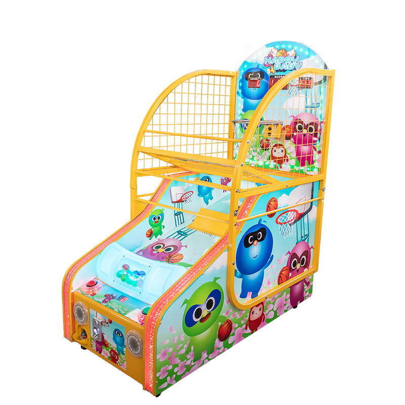 Amusement Park Children Basketball Game Machine Arcade Coin Operated Game Machine
