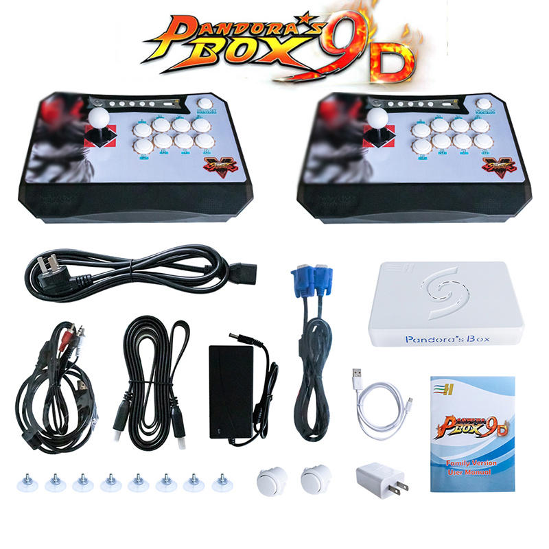 New Arrival Fighting Game Machine Split Arcade Game Console 3D Pandora Video Game Console 2500 in 1