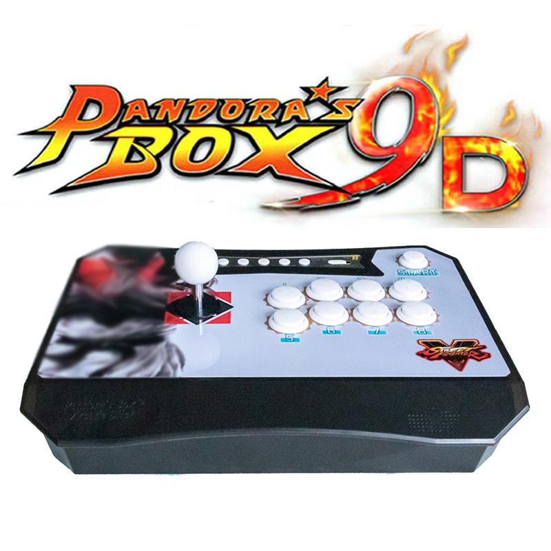 product-2500 in 1 Pandora Arcade Box 9D Wireless TV Arcade Game Console-BLEE-img-1