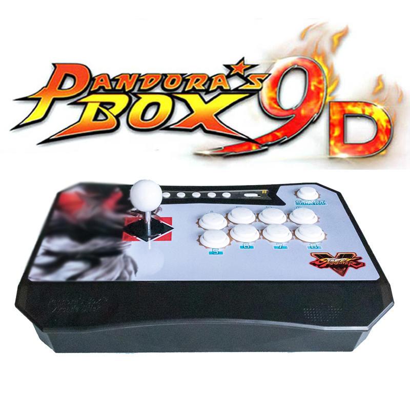 2500 in 1 Pandora Arcade Box 9D Wireless TV Arcade Game Console