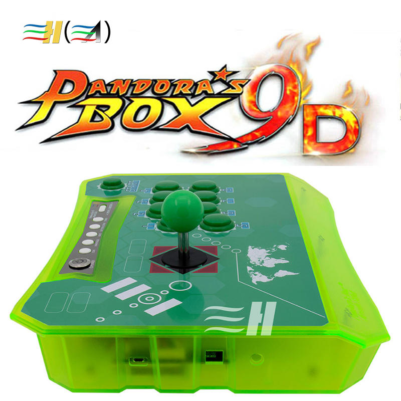 product-BLEE-2500 in 1 Pandora Arcade Box 9D Wireless TV Arcade Game Console-img