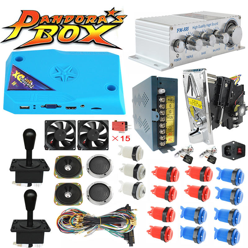 3000 Games New Pandora Box DX DIY Arcade Bundles Kits Parts
