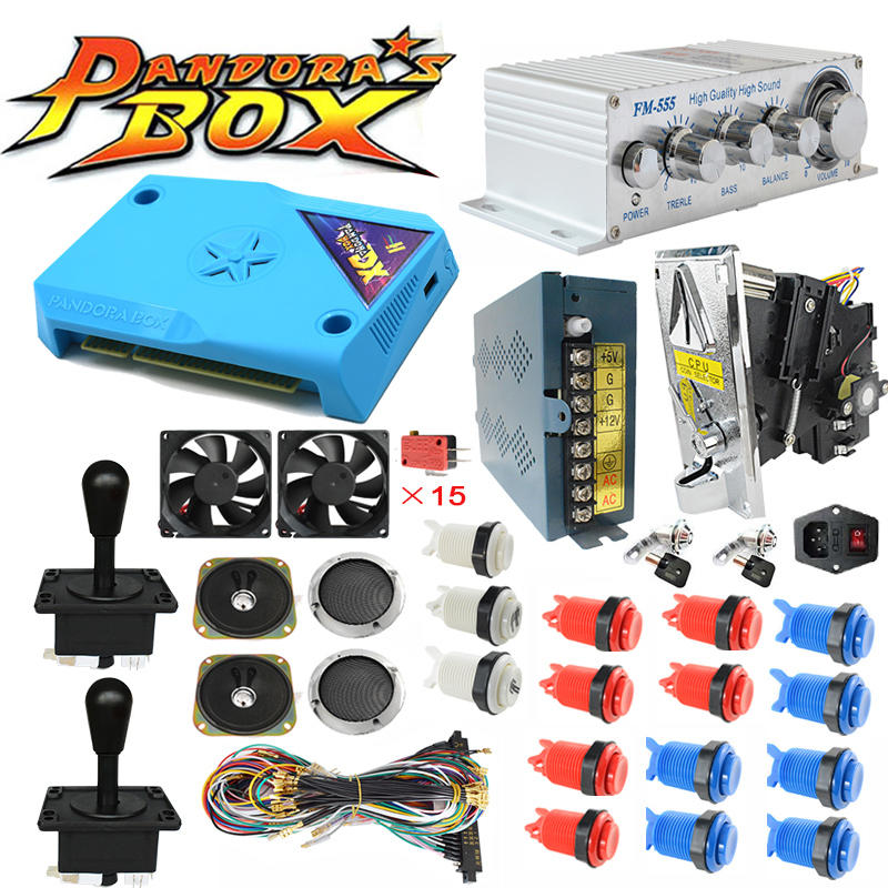 3000 Games New Pandora Box DX DIY Arcade Bundles Kits Parts