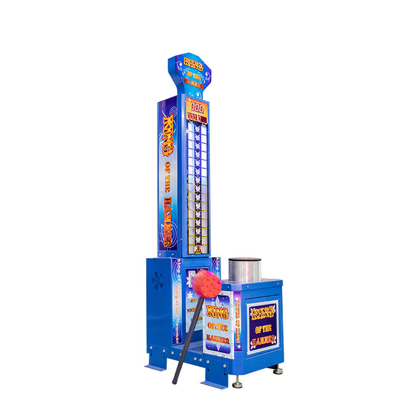 Cheap price arcade redemption game machine king of the hammers strength test game machine for sale