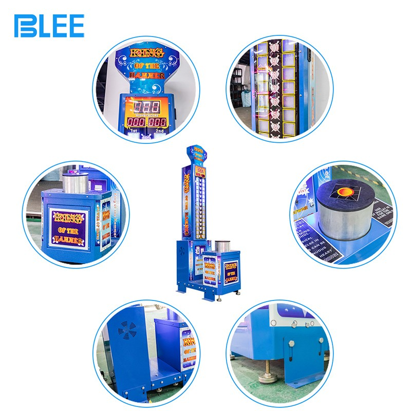 product-Cheap price arcade redemption game machine king of the hammers strength test game machine fo