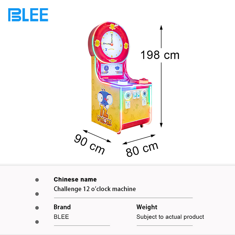 product-BLEE-Survive 12 Oclock Coin Operated Games Machine Extreme Challenge Game Machine for Amusem