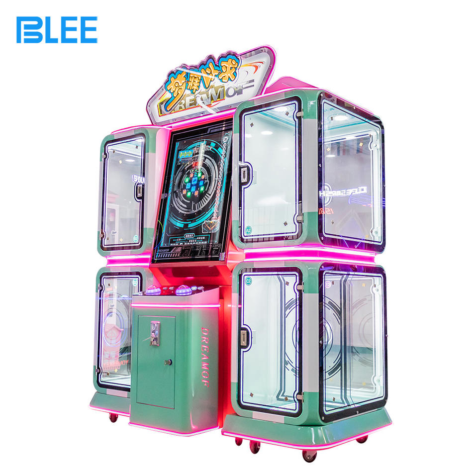 Cheap Price Indoor Sport Coin Operated Arcade Initial Dream Craved Gift Game Machines For Amusement Park For Sale