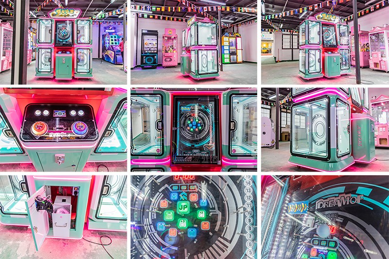 product-Cheap Price Indoor Sport Coin Operated Arcade Initial Dream Craved Gift Game Machines For Am