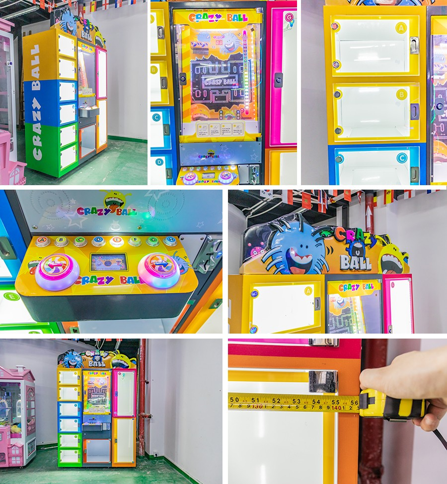 product-BLEE-Crazy toy city catcher rope coin operated redemption ball game machine-img