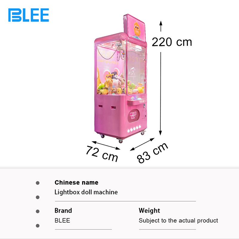 product-Europe Doll Claw Crane Vending Machine Crane Machine Claw For Mall-BLEE-img