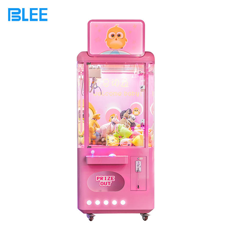 Claw Machine Arcade Game Toy Crane Claw Machine For Sale