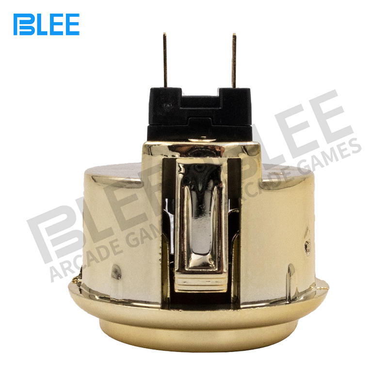product-BLEE-2020 Newest design Gold 30mm 12V arcade push button-img