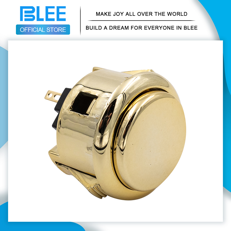 product-2020 Newest design Gold 30mm 12V arcade push button-BLEE-img