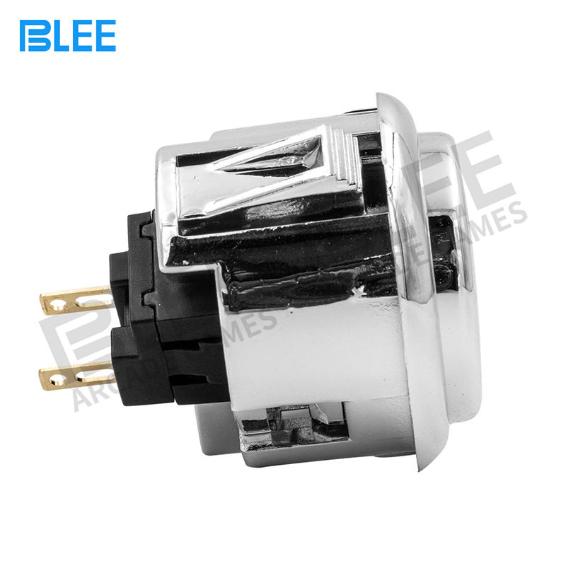 product-BLEE-Switch Button 12V Plated push button game machine arcade for DIY Game parts Pause Start