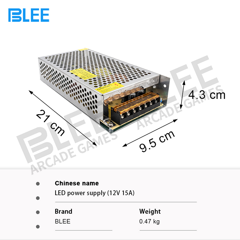product-Arcade Accessories low noise led power supply12V 15A-BLEE-img
