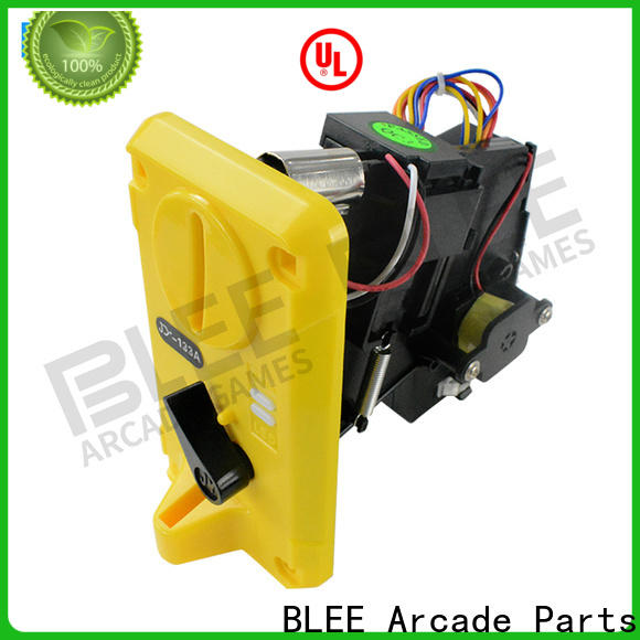 BLEE affordable coin acceptors bulk production for free time