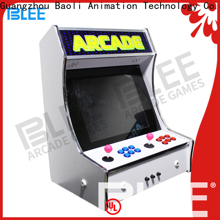 BLEE new arrival classic arcade game machines with certification for children