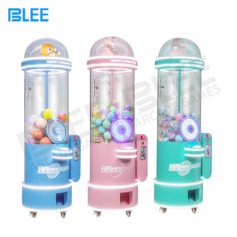 Commercial children's coin operated large toy capsule gashapon vending machine