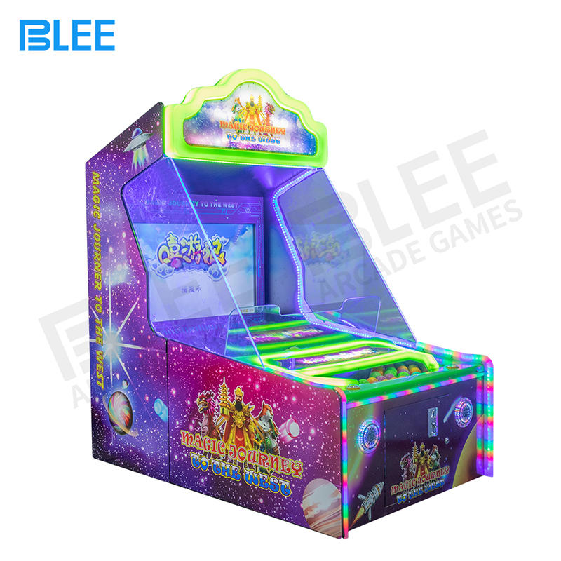 coin operated game shooting ball machine