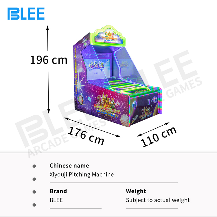 product-Ball Throw To West Journey Ticket Redemption Arcade games Machine coin operated-BLEE-img