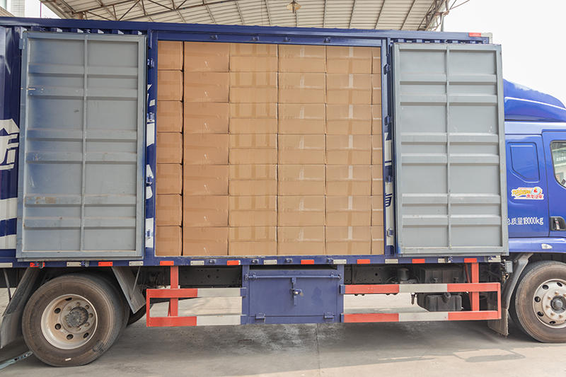 BLEE Loading trucks to the United States