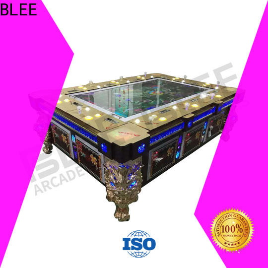 BLEE sides custom arcade machines with certification for holiday